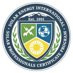 SEI Solar Professionals Certificate Program