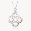 Celtic Cross Knot, Celtic Knot pendant, Celtic Promise, Everyday pendant