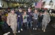 Chairman of the Joint Chiefs of Staff General Martin Dempsey Brings Cheer to Troops Abroad on Second Annual USO Holiday Tour
