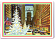 Card Gnome holiday card designed by American Artists *New York*