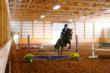 There is year round riding in the indoor arena
