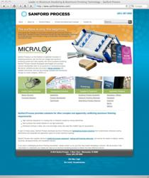 Sanford Process Corporation website
