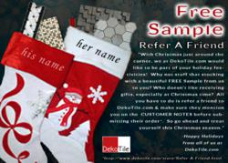 Refer A Friend - Free Sample