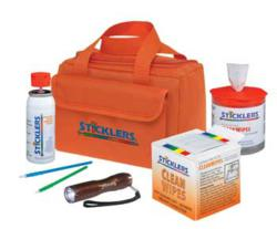 Sticklers Fiber Optic Cleaning Kit with  cleaners, wipes and swabs