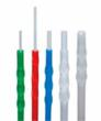 Sticklers® CleanStixx™ shown in five sizes, there is a stick for every style of fiber optic connector.