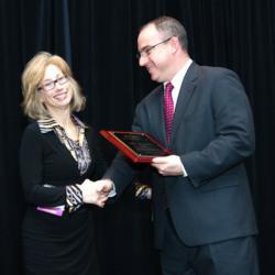 Amy Zimmerman receives PILI Distinguished Intern Alumni Award