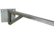 stainless steet mounting bracket for the Magnalight explosion proof swing arm LED light