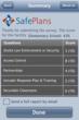 Screenshot from SafePlans Intruder Vulnerability Assessment App