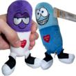 Funny Stuffed Talking Pills from Stupid.com