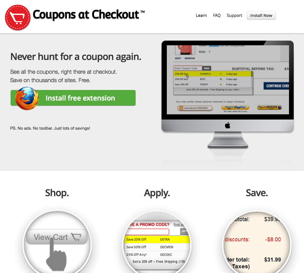 Online stores send out discount codes to SELECT groups of customers, leaving the rest of us to pay full price! To that we say, NO! We find and list ALL of the coupon codes and promotional codes .