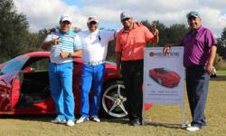 exotic cars,luxury car rentals,luxury sports car rentals,exotic car rentals,GMF golf tournament,Ferrari 458 Italia