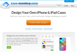 Case-Monkey.com homepage