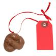 Little Poop Funny Gag Gift Christmas Ornament