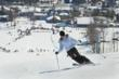 Skiing Schuss Mountain at Shanty Creek Resorts near Traverse City