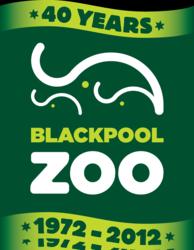 Blackpool Zoo Anniversary logo
