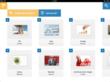Screenshot, project folders / lightboxes