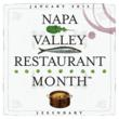 Taste Napa Valley's during Restaurant Month, January 2013.