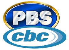 CBC and PBS Logo