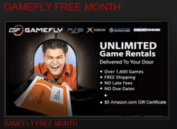 GameFly Free Month
