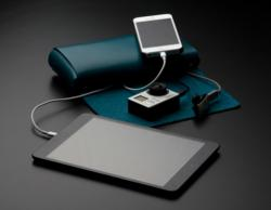 Portable Charging Station Folio Blue