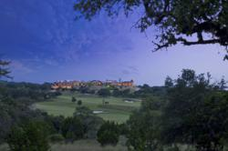 Looking out across the greens of the award winning golf course, Cordillera Clubhouse