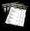 Muscle Gaining Secrets - Work Sheets