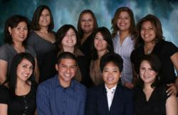 Dr. Emily Letran and her friendly dental practice staff