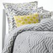 chevron bedding, gray chevron bedding, chevron comforters