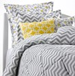 chevron bedding, gray chevron bedding, chevron comforters
