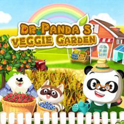 Dr. Panda's Veggie Garden Main Banner