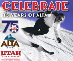 Alta Ski Area celebrates 75 years of skiing