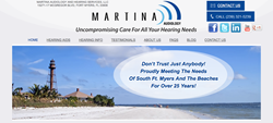 hearing aids in Fort Myers FL - Martina Audiology and Hearing Services, LLC new website