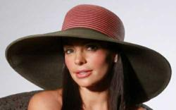 monaco fashion sun hat