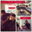 Royal Razor Barbershop in Baltimore Maryland for Straight Razor Shaves and Haircuts - Jarrett