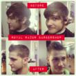 Royal Razor Barbershop in Baltimore Maryland for Straight Razor Shaves and Haircuts - Transformed Customer