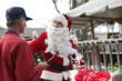 Matt Donaldson as Santa at Pinellas Hope