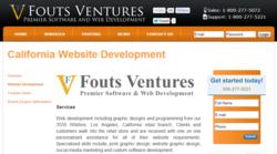 California Website Development - National Directory - Fouts Ventures