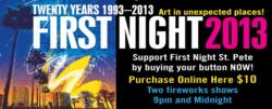 First Night 2013 - St. Petersburg, Florida