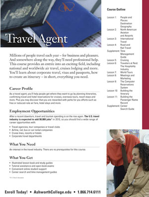 Accredited Travel Agent Programs