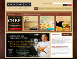 Where Chef Eats Website