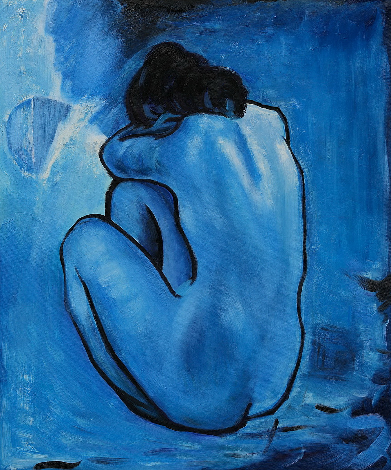Blue Nude By Picasso 35