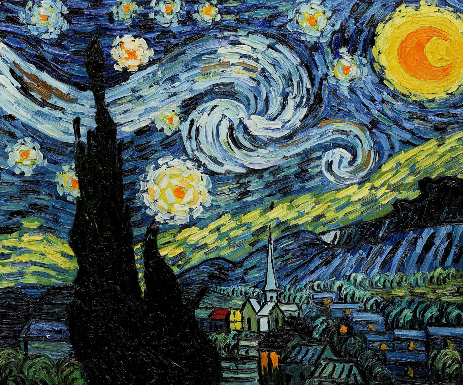 starry night van gogh Artwork details starry night (1889) is perhaps the most famous of vincent van gogh's paintings painted after the 1888 breakdown that resulted in his hospitalization in the asylum at arles.