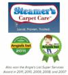 San Antonio Carpet Cleaners at Steamer's Carpet Care Win Super Service...