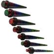image of Zebra Striped Taper Ear Stretching Kit