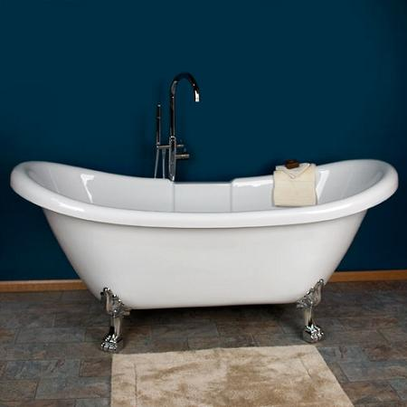 introduces a a quick buyer s guide to clawfoot bathtubs. Black Bedroom Furniture Sets. Home Design Ideas