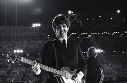 Paul McCartney,1965, Photo by Bob Bonis