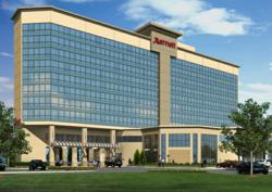 Rendering of the new Marriott Memphis East hotel