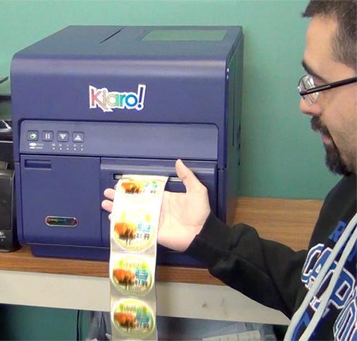 Dave S Marketplace Uses The Kiaro Inkjet Label Printer