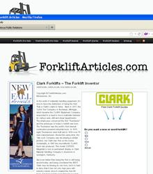 Clark Forklifts For Sale