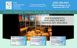 hearing aids in Hagerstown - The Audiology Center of Hagerstown website